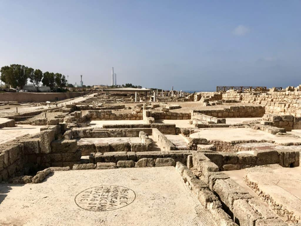 Caesarea Maritima | a day trip in northern Israel from Tel Aviv