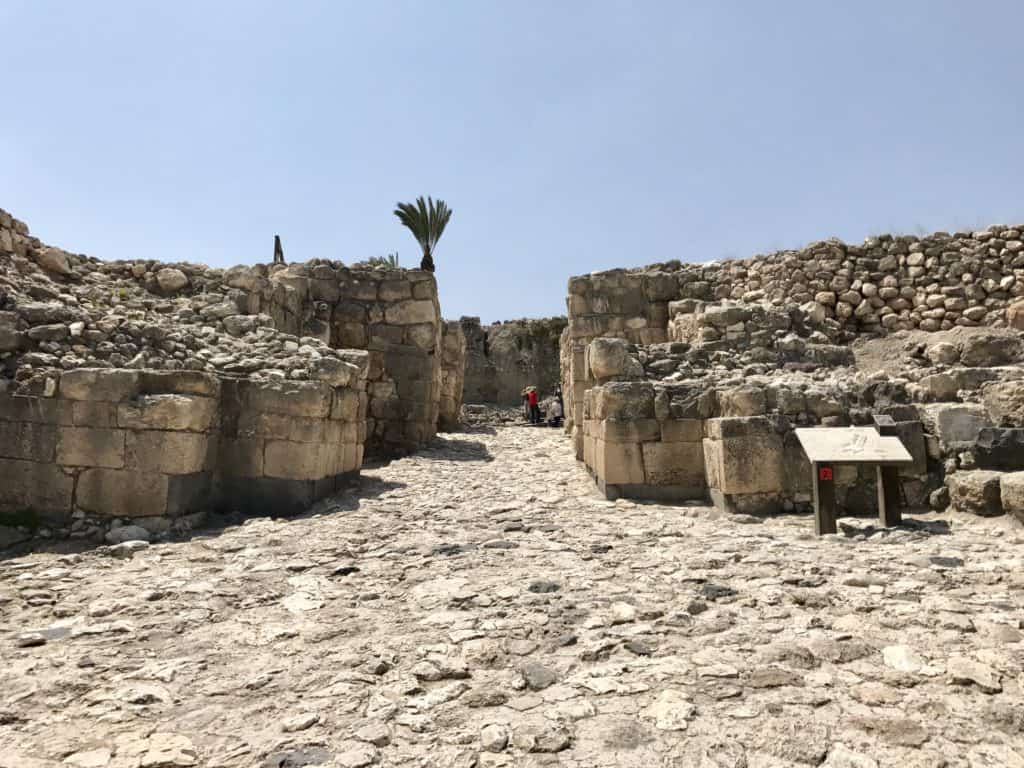 Tel Megiddo aka Armageddon | A day trip from Tel Aviv to northern Israel, covering Caesarea, Tel-Megiddo, the Sea of Galilee, Capernaum, the Mount of Beatitudes, Tiberias, and Akko | what to do in Israel | There's so much to visit in such a small area, you can have a jam-packed day driving from Tel Aviv or Jerusalem but cover so many historic sites and towns | Israel itinerary ideas, Christian history trips, visit the Jesus trail, bible archaeology tours, what to see in Israel, Jerusalem day trips #israel #seaofgalilee #telaviv