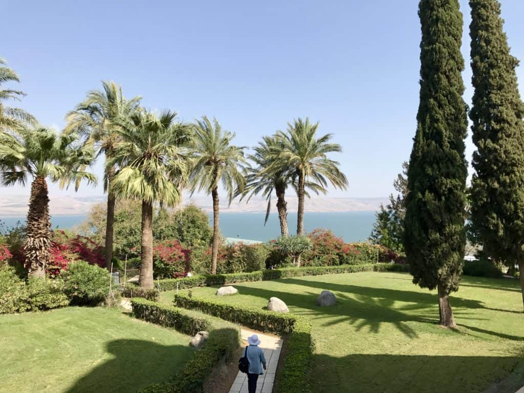 Mount of Beatitudes, overlooking Sea of Galilee | A day trip from Tel Aviv to northern Israel