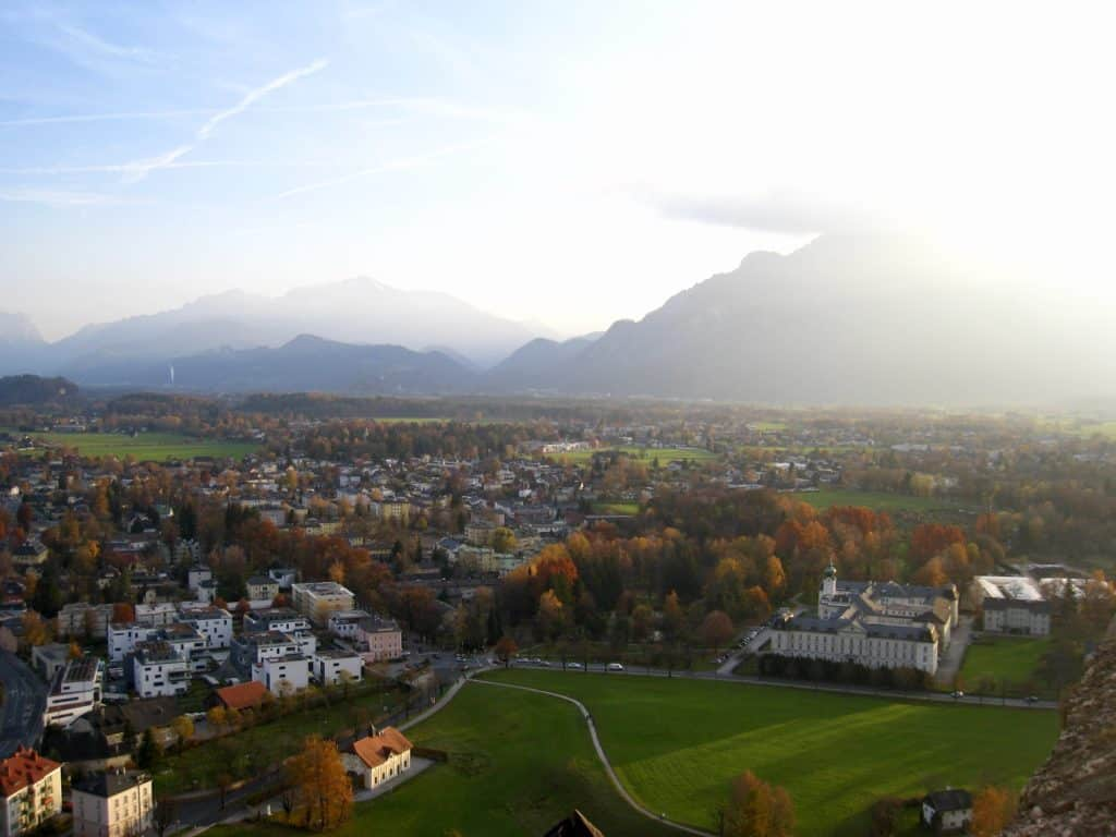 Get up to Hohensalzburg Fortress for some amazing views