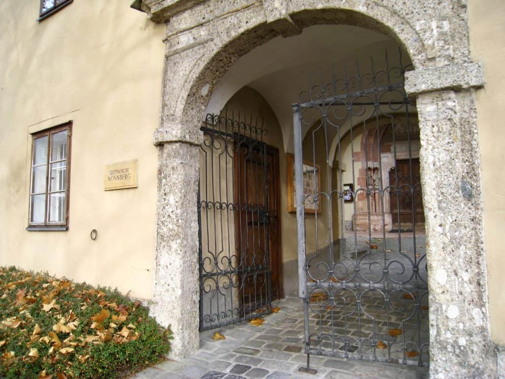 Nonnberg Priory in Salzburg, Austria