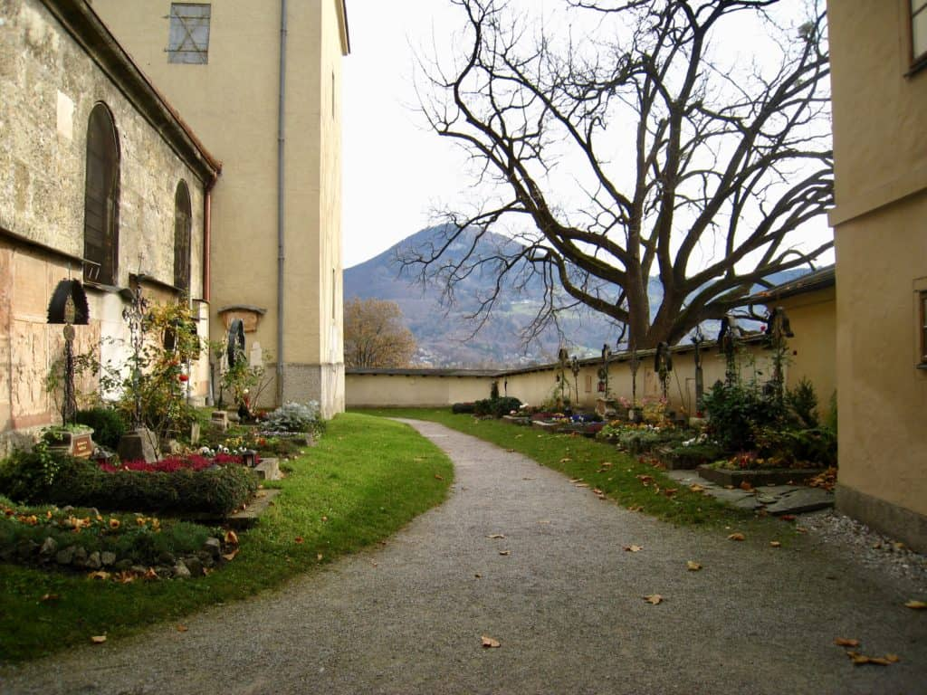 Nonnberg Priory in Salzburg