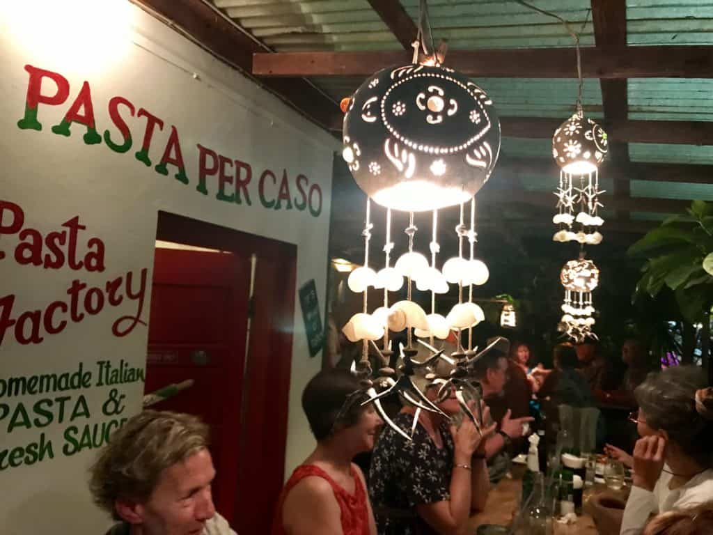 Where to eat in Caye Caulker, Belize | Pasta per Caso is a must, delicious handmade pasta & Italian food