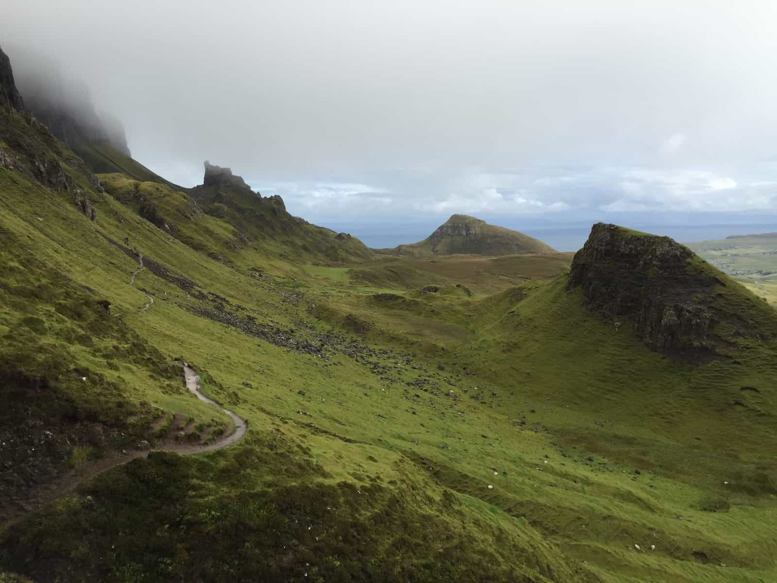 19 of the best places to visit in Scotland - hiking the Quiraing