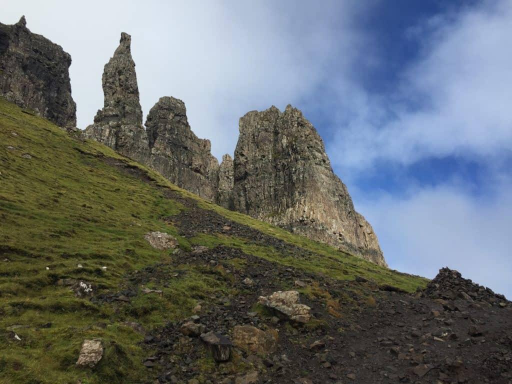 The Quiraing hike on the Isle of Skye, Scotland