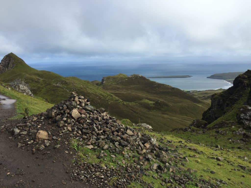 What to do on the Isle of Skye - hike the Quiraing, a stunning, dramatic hike on the Trotternish Ridge
