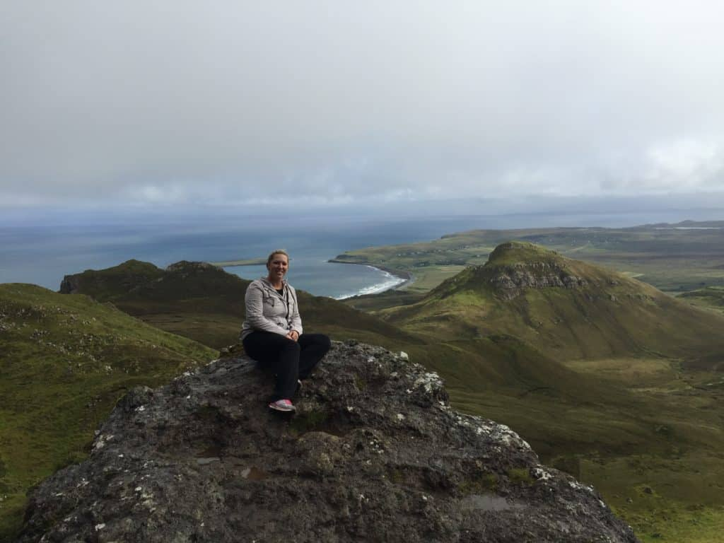 The Quiraing hike on the Isle of Skye, Scotland