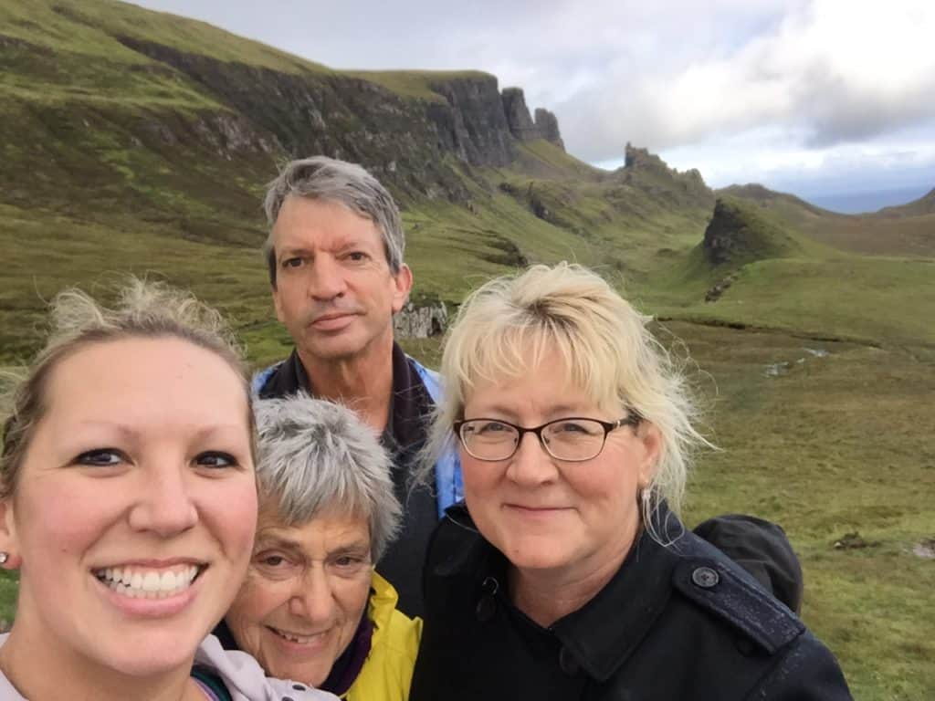 We made it back! Hiking the Quiraing on Scotland's Isle of Skye