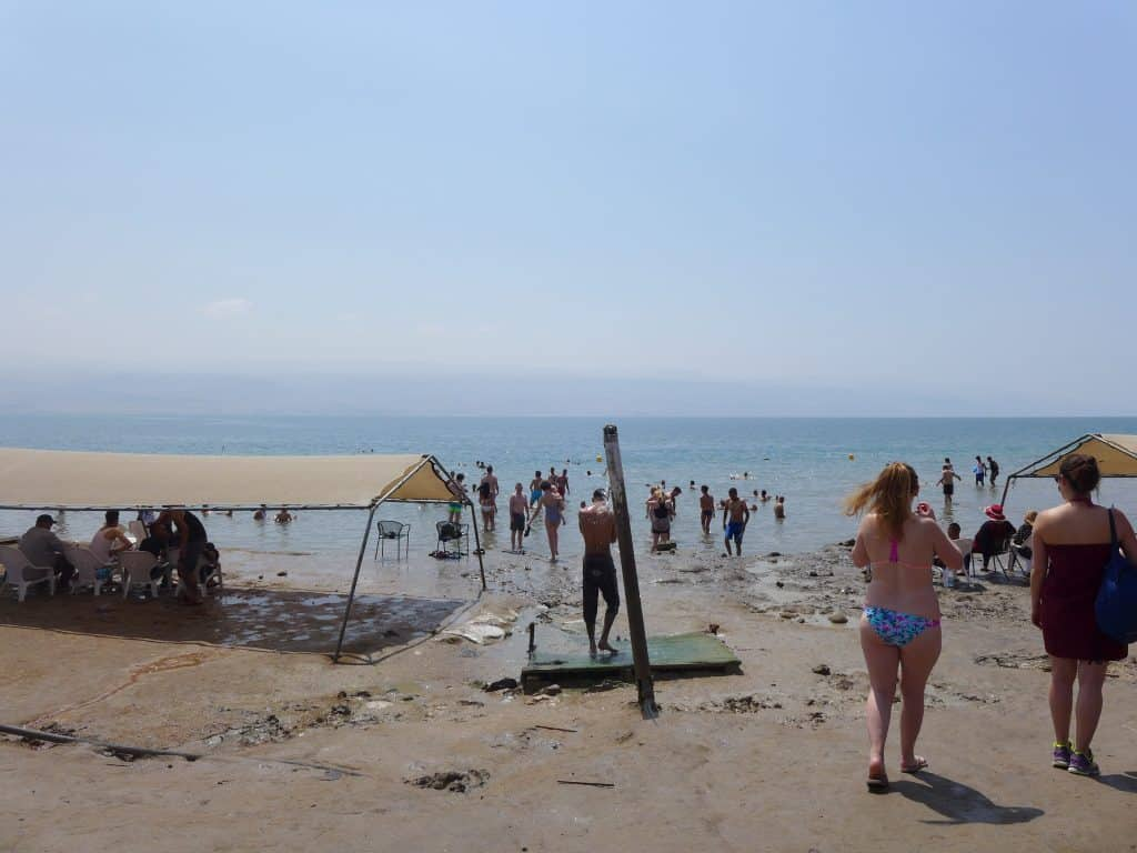 A meh visit to the Dead Sea...should you take the popular sunrise Masada, Ein Gedi, & Dead Sea Tour in Israel? I share my pros & cons.