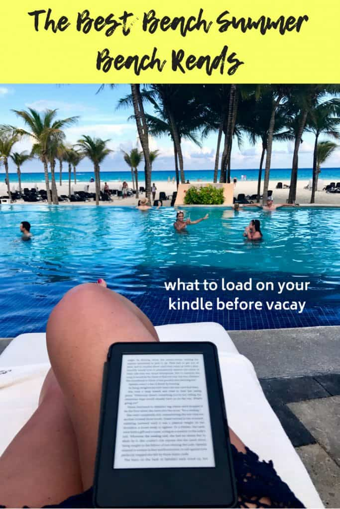 My Fave Summer Beach & Pool Reads | fun & light books for the beach or pool, from comedy to romance to fantasy...the things that keep me company at the pool | best beach reads #books #beach #vacay