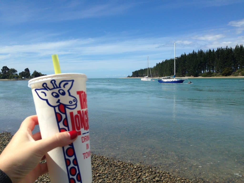 A stop at Mapua Wharf near Nelson, New Zealand | One Girl, Whole World