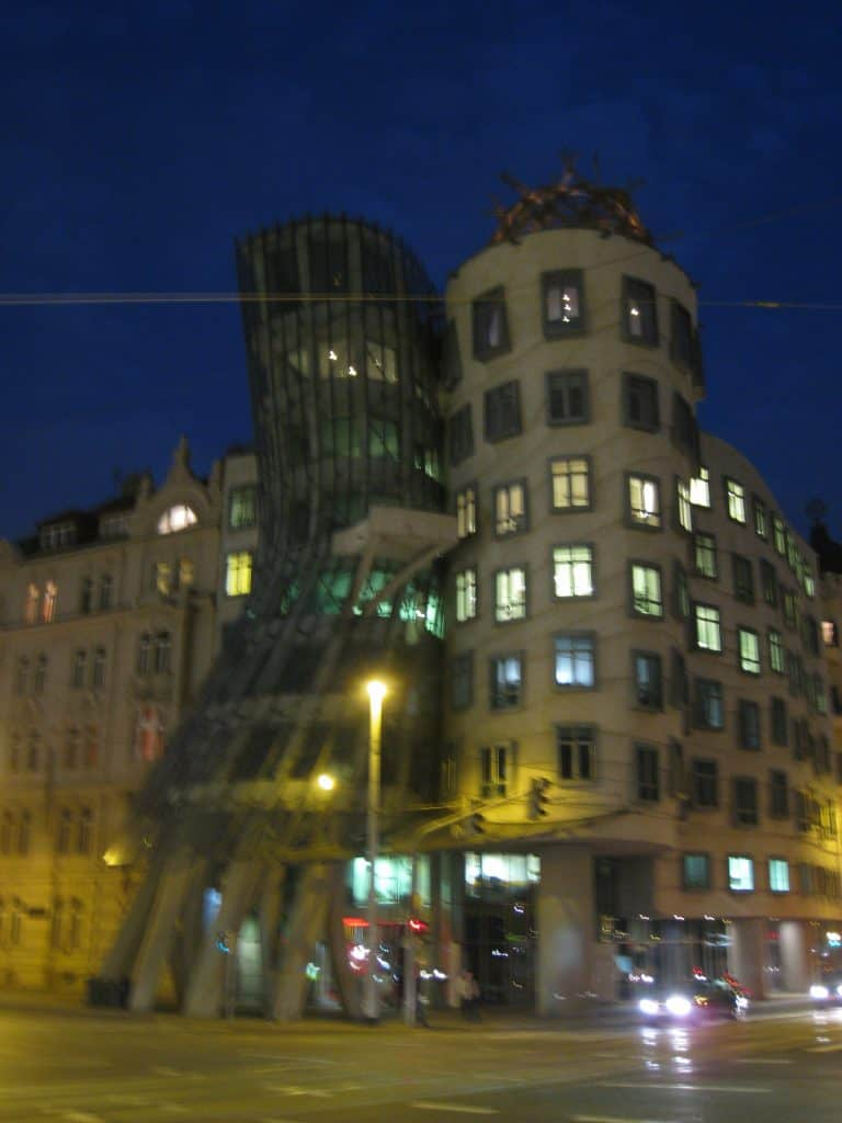 The adorable Dancing House in Prague, Czech Republic | What to do with 24 hours in Prague