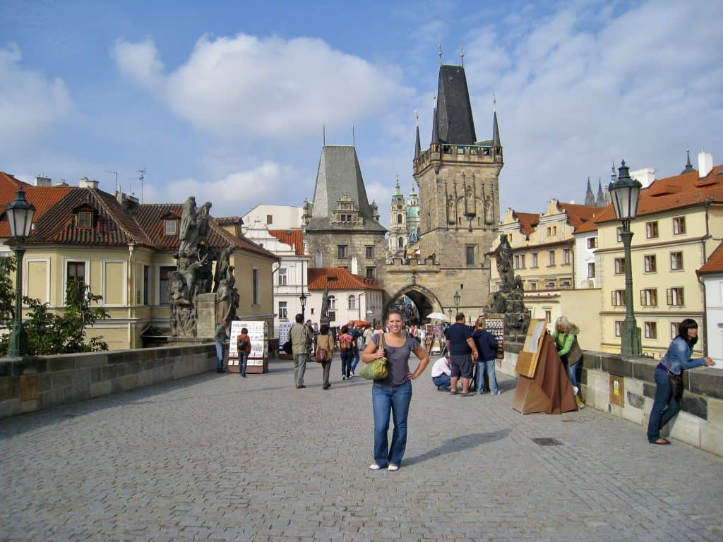 PRAGUE, CZECH REPUBLIC | Charles Bridge is a must in Prague, with lots of history and great views #prague #czechrepublic