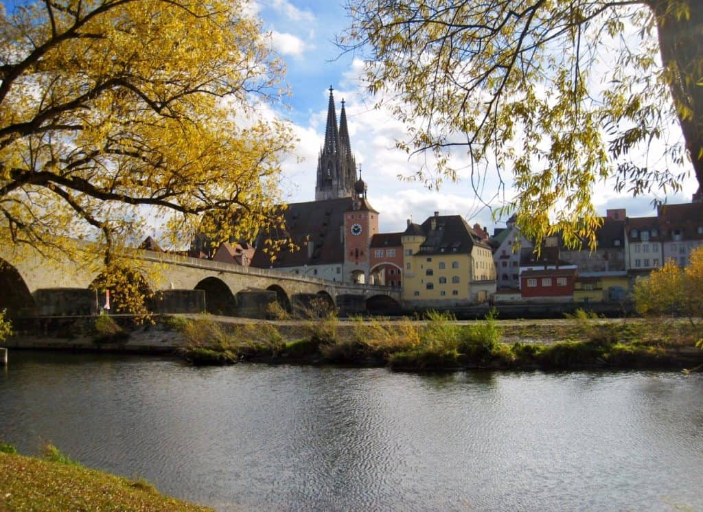 REGENSBURG, GERMANY | A great day trip from Munich, this little medieval city isn't known by many but has millennia of history and culture to explore! What to do in Regensburg, day trips from Munich #germany #munich
