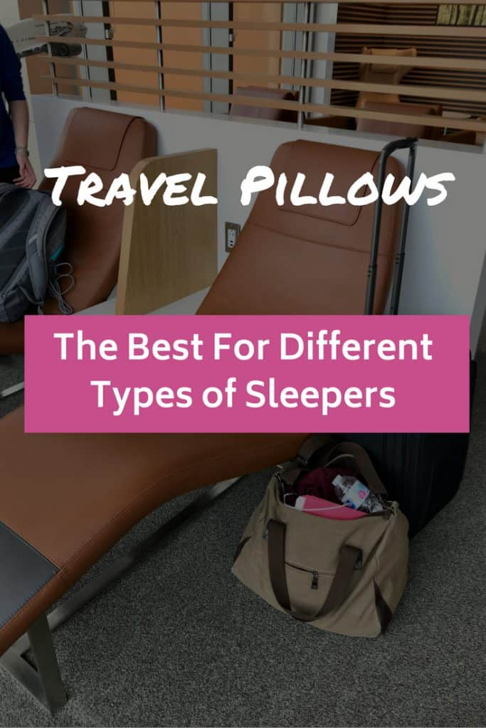 Best Travel Pillows for Different Types of Sleepers | how to find the right neck pillow for travel, whether TRTL, moon, inflatable, side-sleeper, etc. Which travel pillow is right for you? #travelpillow #travelgear #flight