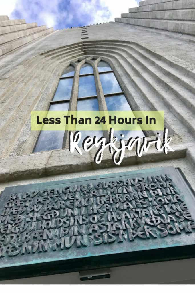 24 Hours in Reykjavik, Iceland | a first-timer's guide to spending 24 hours or less in Iceland's colorful, fun capital city! What to do in Reykjavik, things to do in Reykjavik, including Hallgrimskirkja, the Sun Voyager statue, nightlife, and more! #reykjavik #iceland #itinerary