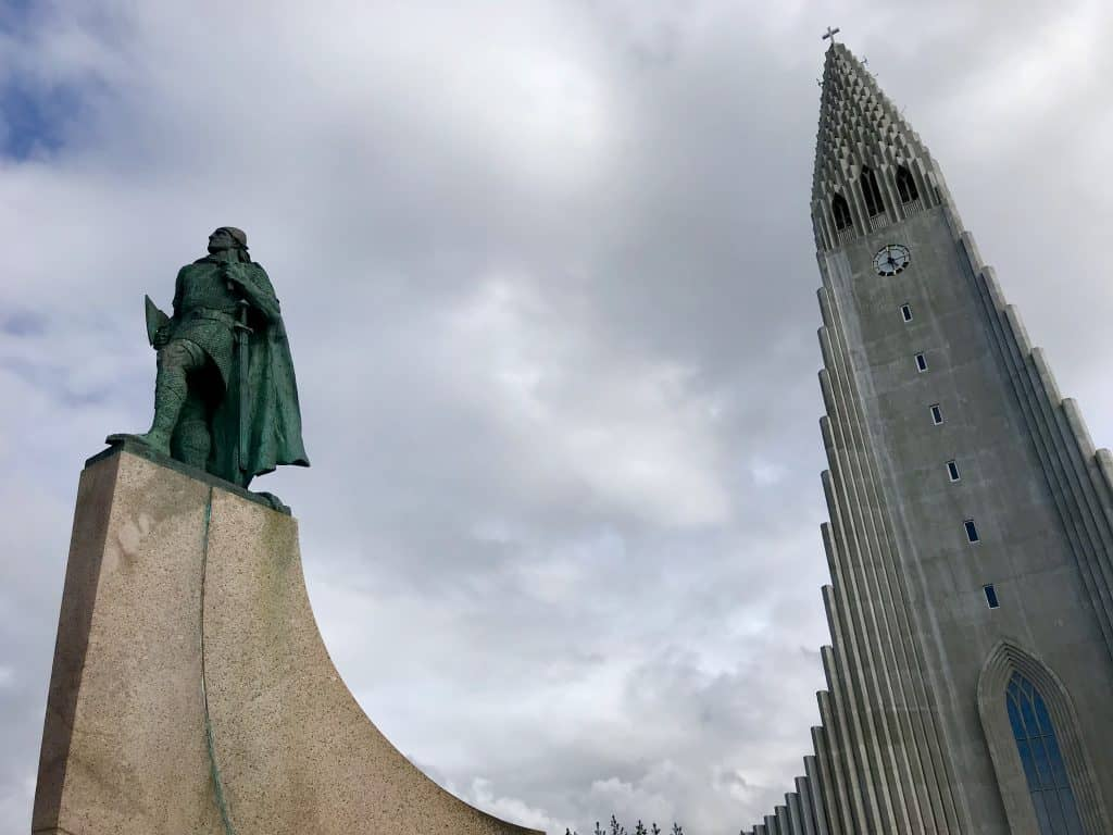 Iconic Hallgrímskirkja church in Reykjavik, Iceland | One Girl, Whole World