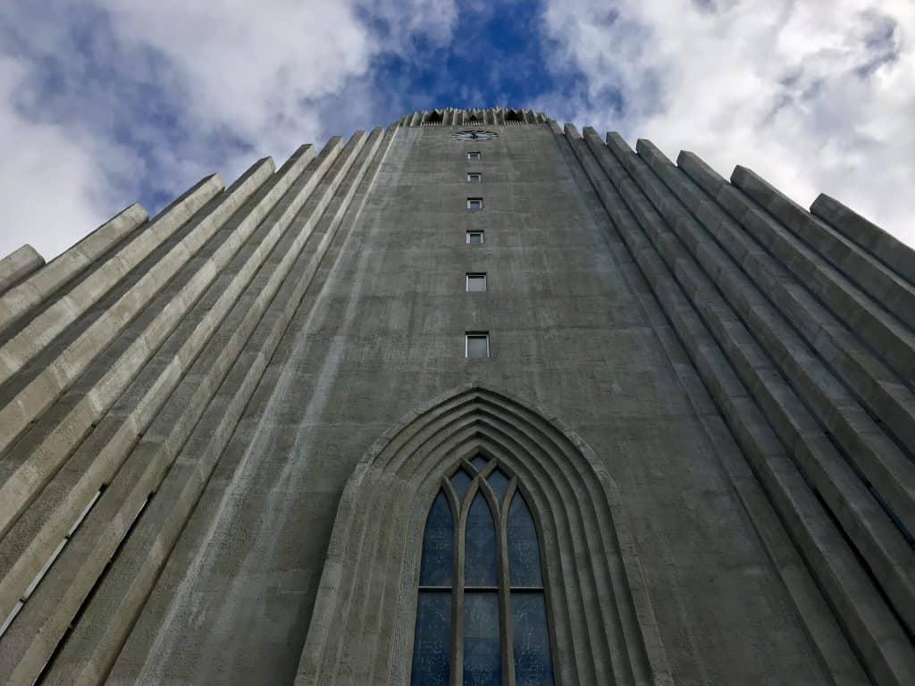 Iconic Hallgrímskirkja church in Reykjavik, Iceland   One Girl, Whole World