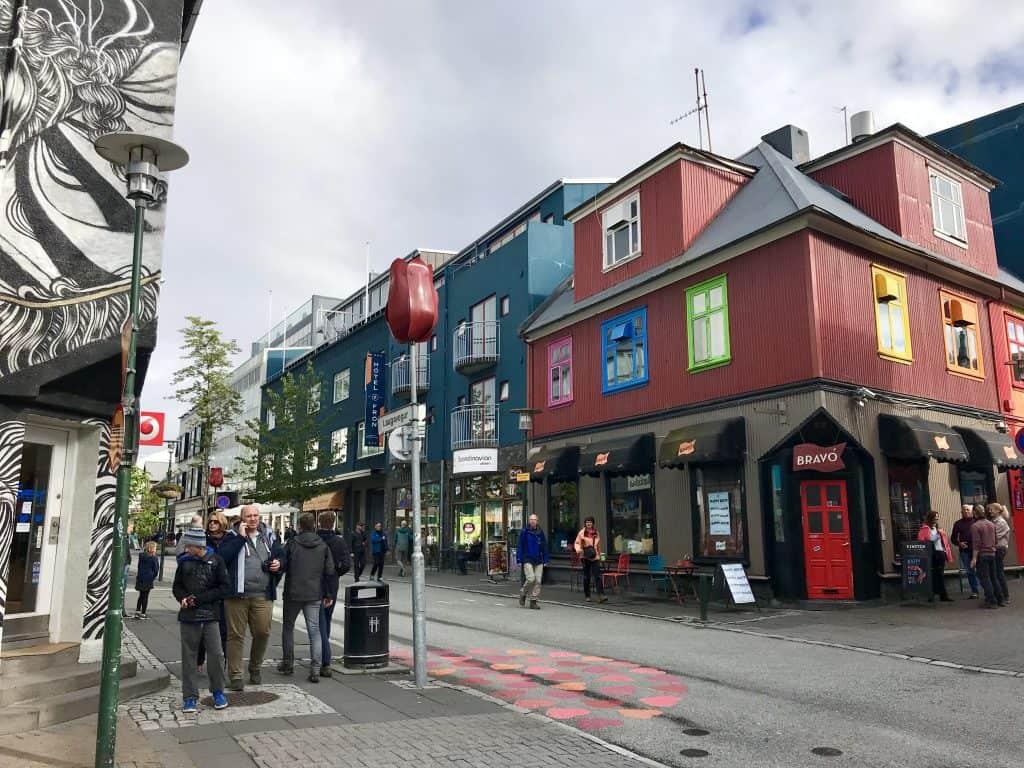 Reykjavik's main artery, Laugavegur street | One Girl, Whole World