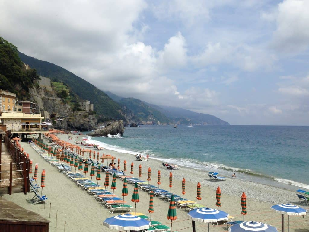 Enjoy Monterosso's beaches...a guide to Cinque Terre for first-timers | tips for planning your trip to Cinque Terre