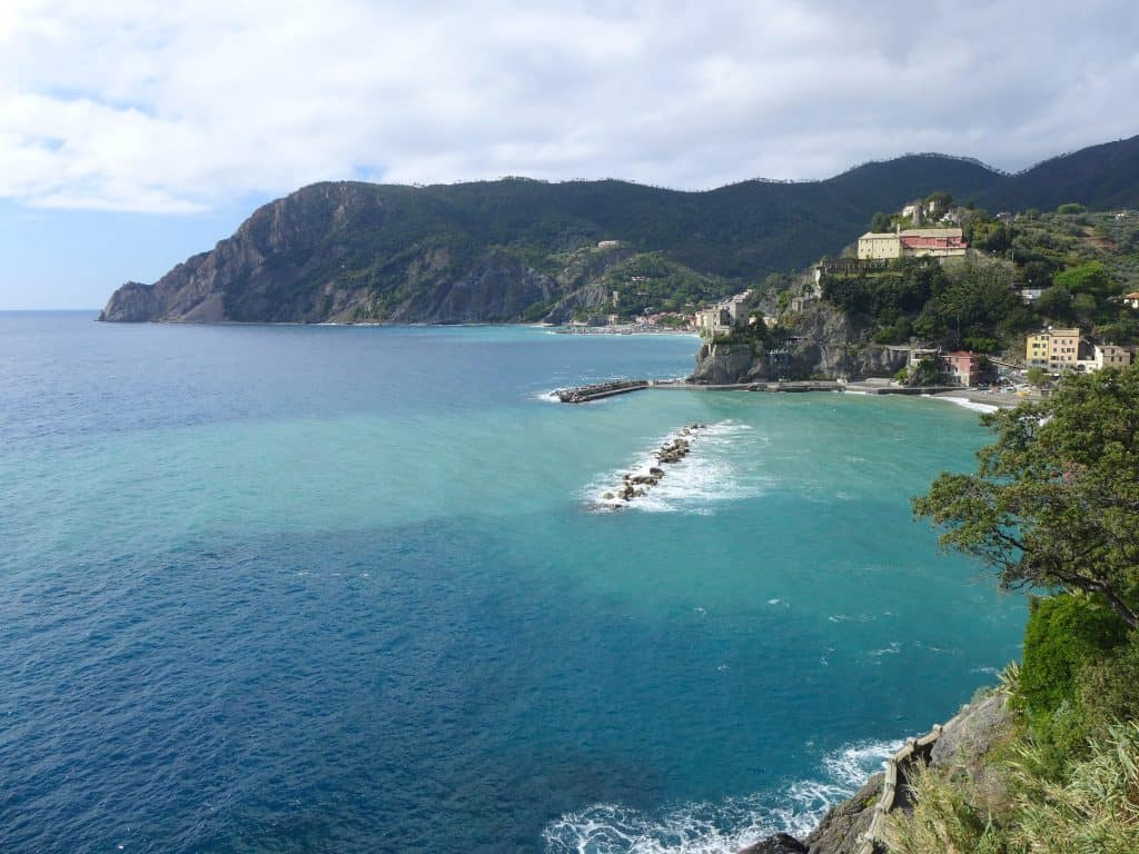 The view in Monterosso | what to do in Cinque Terre, tips for visiting!