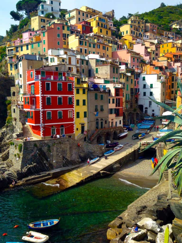 Riomaggiore, Cinque Terre in Italy | One Girl, Whole World
