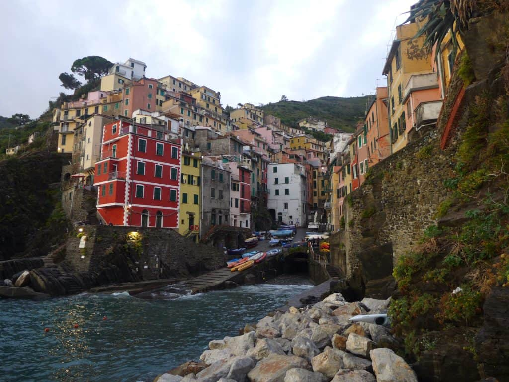 In my opinion, Riomaggiore has the best sunset in Cinque Terre...why I always stay here, and at least overnight. How to get the best sunset view in Cinque Terre!