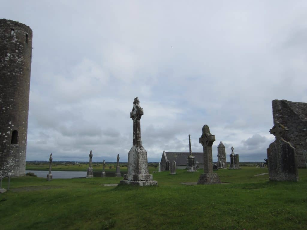 Clonmacnoise Monastery, Ireland | a perfect Ireland roadtrip stop, full of history and right off the highway