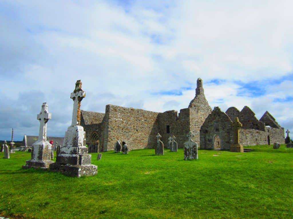 Clonmacnoise Monastery, Ireland | this cool ancient site makes a convenient and interesting stop on a Dublin day trip or Ireland road trip itinerary, what to do in Ireland #ireland #roadtrip #itinerary