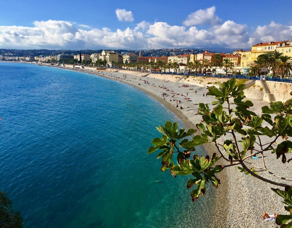 The beaches of Nice are worth a visit...what to do in the French Riviera, planning your South of France itinerary | One Girl, Whole World