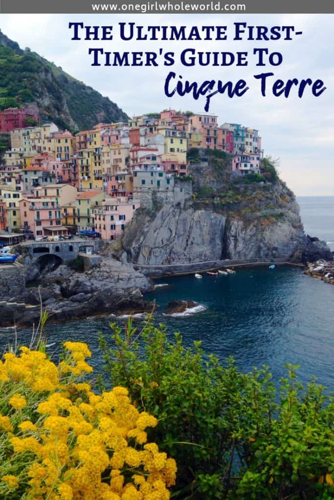 THE ULTIMATE FIRST-TIMER'S GUIDE TO CINQUE TERRE | All my best advice for visiting one of my favorite places in the world! Where to stay in Cinque Terre, where to eat, things to do in Cinque Terre, tips for planning your visit! A perfect Italy itinerary idea. #cinqueterre #5terre #italy #itinerary #liguria