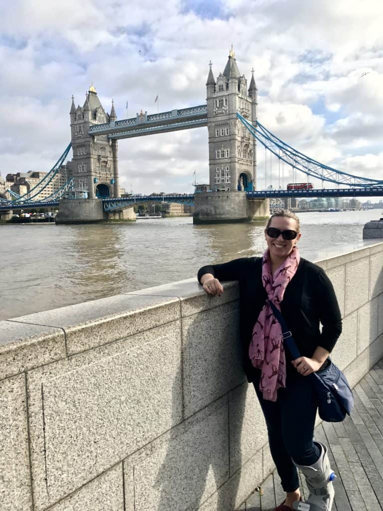 A bright day looking at Tower Bridge - what to do with a day in London - 24 hours in London