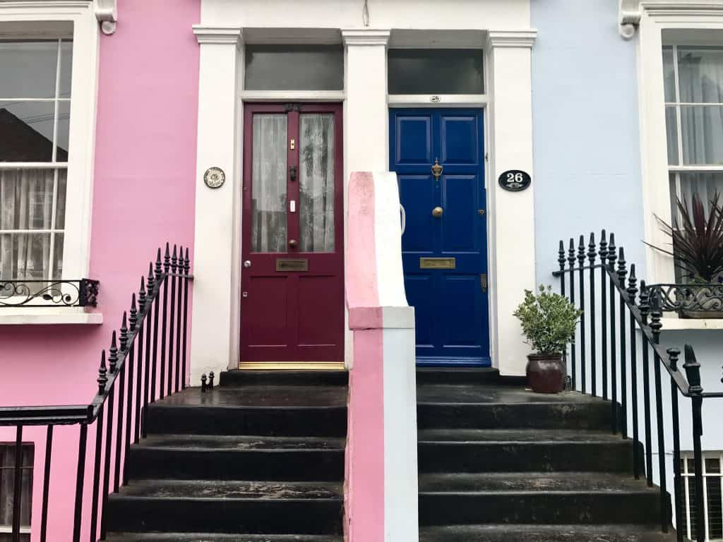 The colors of Notting Hill are worth a visit - what to do with a day in London