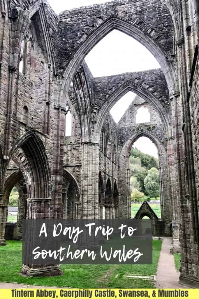 WALES, UK | What to do in south Wales, a day trip itinerary for Wales...there's so much to do in Wales, here are a few things you can see on a day trip! Visit Tintern Abbey, Caerphilly Castle (the biggest in Wales!), and the beautiful Swansea coast and Gower Peninsula! #wales #ukroadtrip #itinerary #tinternabbey #castles