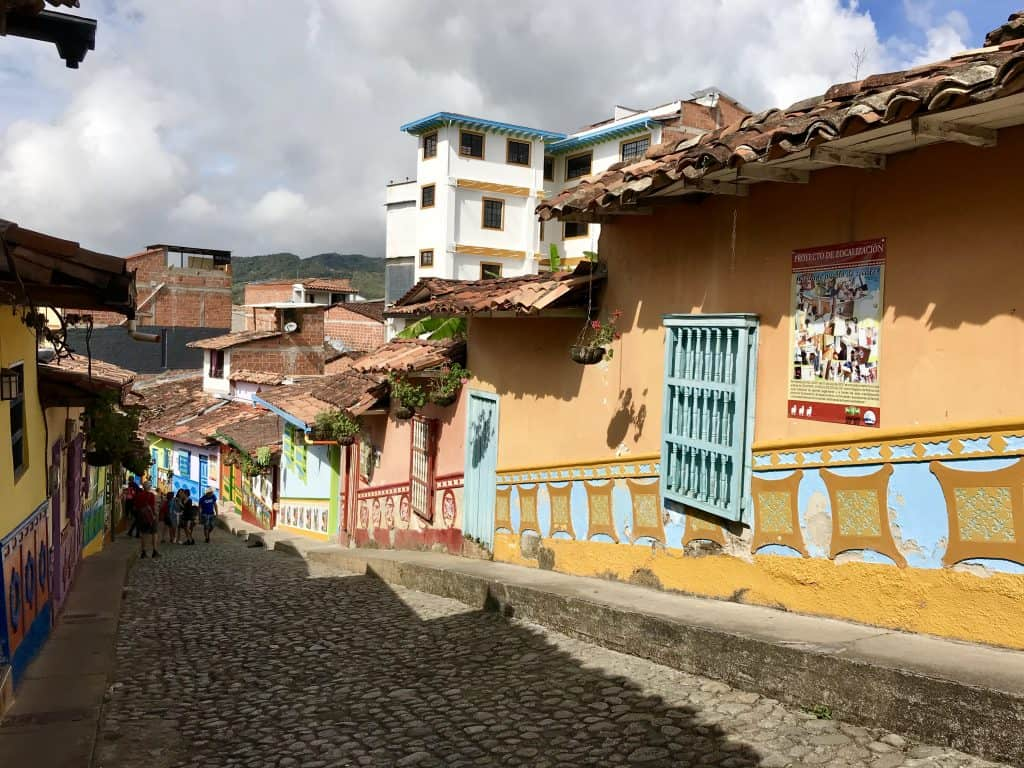 How to visit colorful Guatape, Colombia from Medellin | One Girl, Whole World