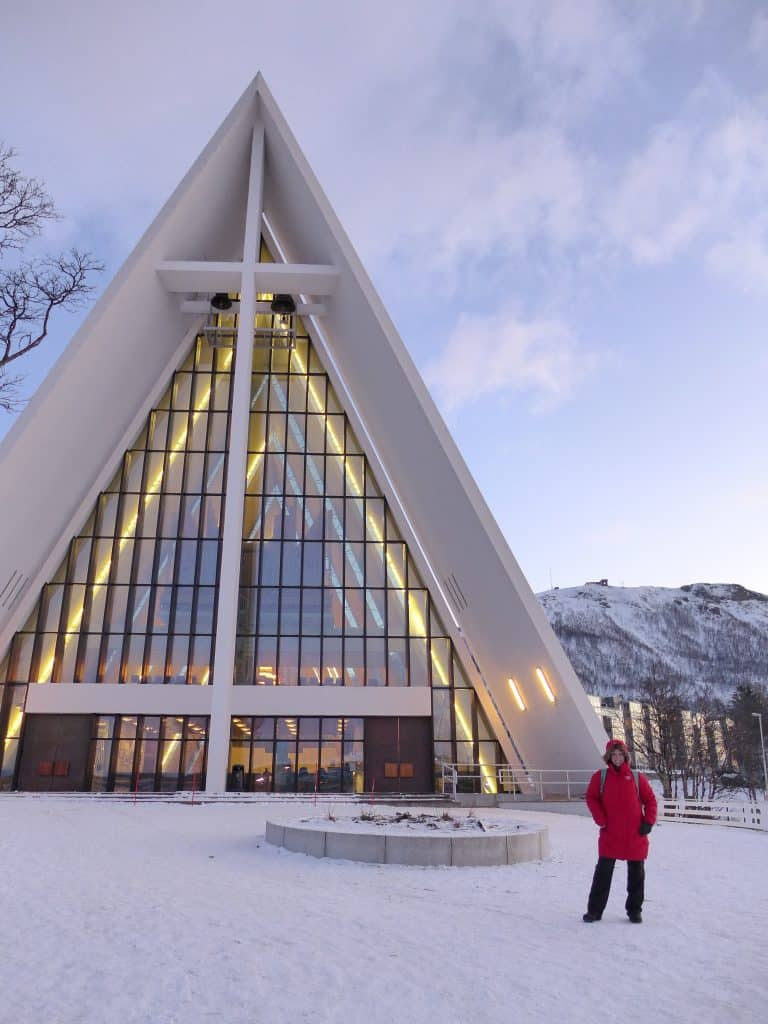 The Arctic Cathedral is a must when visiting Tromsø | how to plan your winter visit to Tromso, Norway | One Girl, Whole World