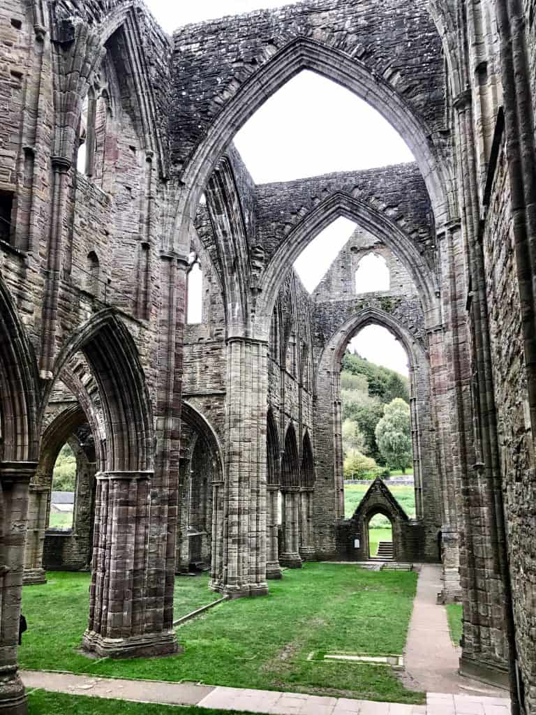 Massive Tintern Abbey is a must-see when visiting Wales | Wales itinerary ideas, day trip to Wales, what to do in south Wales | One Girl, Whole World