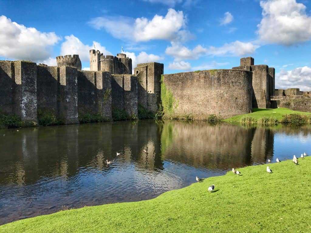 Caerphilly Castle, Wales, UK | What to Do On A Day Trip to South Wales | One Girl, Whole World