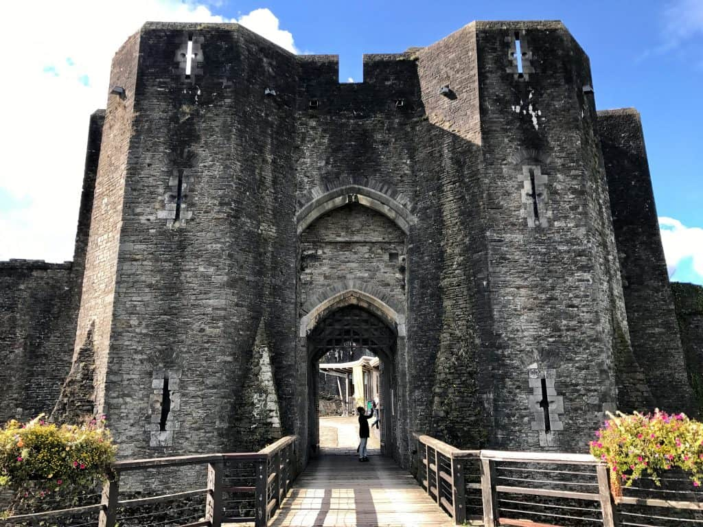 Visit Caerphilly Castle...what to do in south Wales on a day trip | One Girl, Whole World