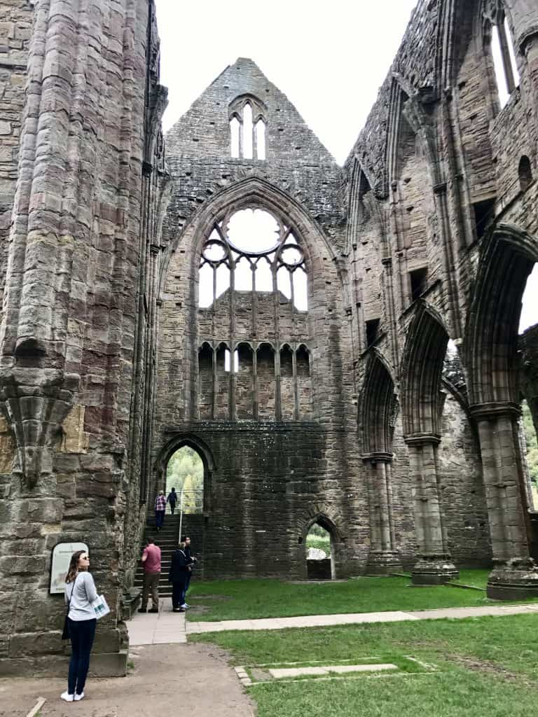 Tintern Abbey, Wales, UK | What to Do On A Day Trip to South Wales | One Girl, Whole World