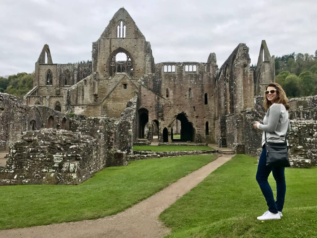 Tintern Abbey, Wales, UK | Wales itinerary ideas, day trip to Wales, what to do in south Wales | One Girl, Whole World