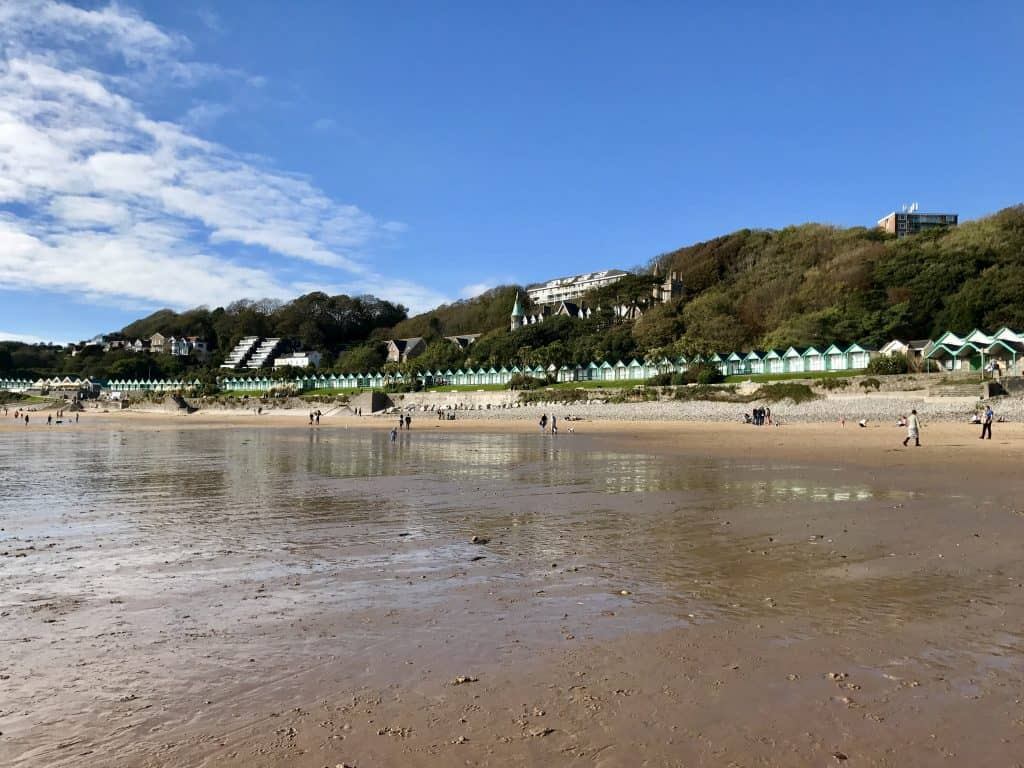 Langland Bay, on the Gower Peninsula in south Wales | a day trip to Wales
