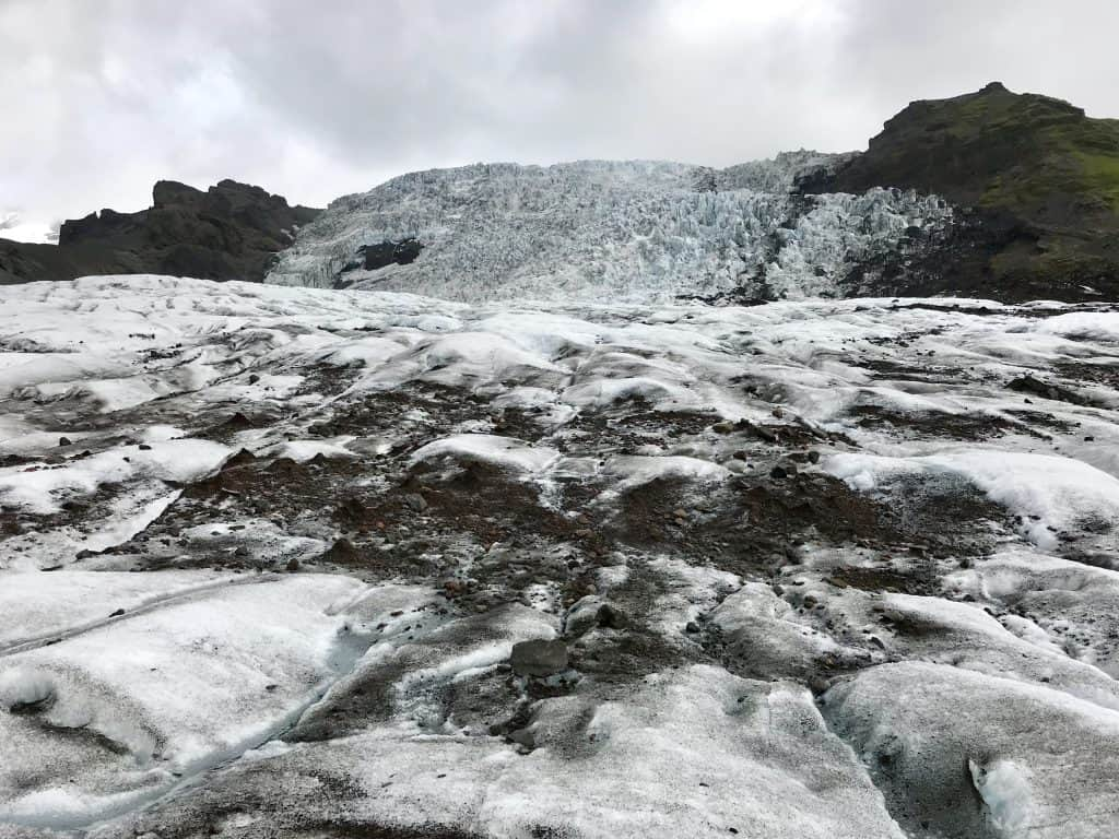 How to take a glacier hike in Iceland, visiting a glacier in Iceland | One Girl, Whole World