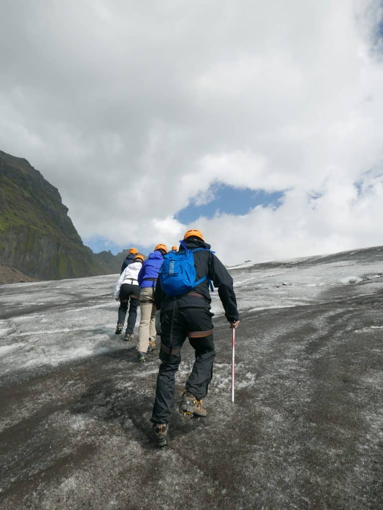 Hiking a glacier in Iceland, a bucket list item for any adventurer!