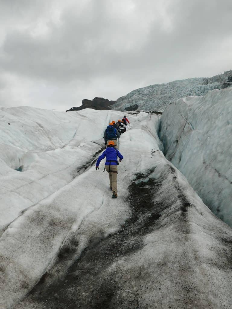 A Glacier Hike in Iceland | How to plan your own Iceland glacier tour, which company to use, where to stay in Iceland, and planning an amazing Iceland itinerary! Things to do in Iceland in summer, and why visiting a glacier is a must! #bucketlist #glacier #iceland #itinerary #hiking #glacierhike
