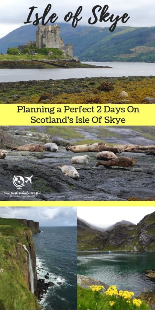 Planning an Amazing Isle of Skye Itinerary in Scotland | how to plan your trip to the Isle of Skye, what to do on Skye, where to stay, tips for driving in Scotland, and when to go! #isleofskye #scotland #skye #itinerary #quiraing #oldmanofstorr