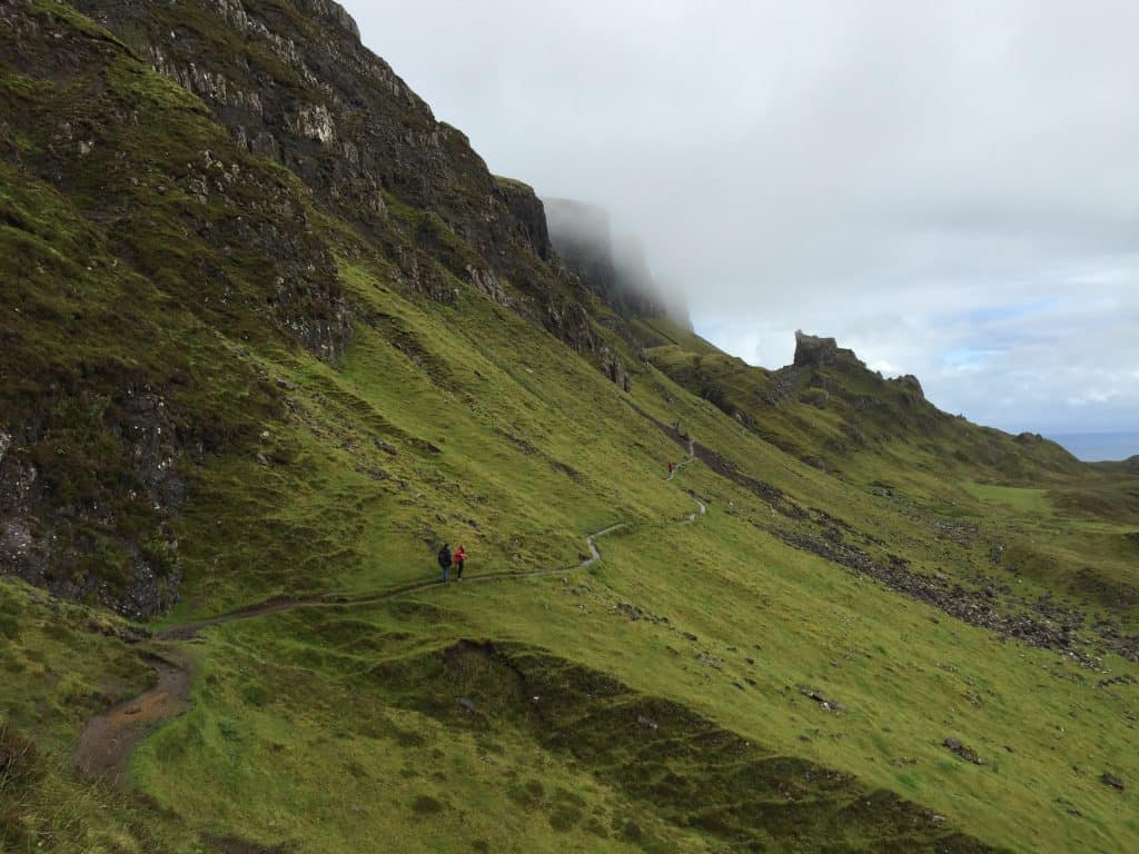 Hike the famous Quiraing, on the Trotternish Ridge | Planning a trip to the Isle of Skye, in Scotland | One Girl, Whole World