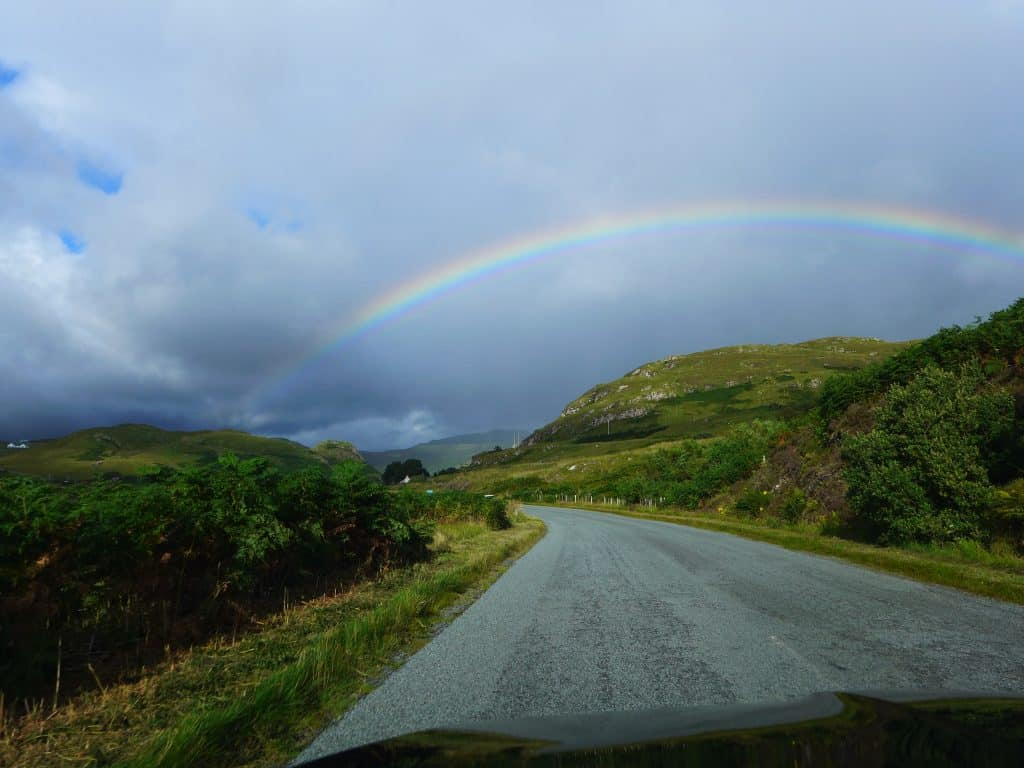 Driving on the Isle of Skye | Isle of Skye itinerary for Scotland | One Girl, Whole World