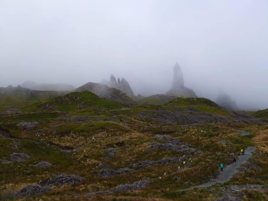 Hike the Old Man of Storr | Planning a trip to the Isle of Skye, in Scotland | One Girl, Whole World