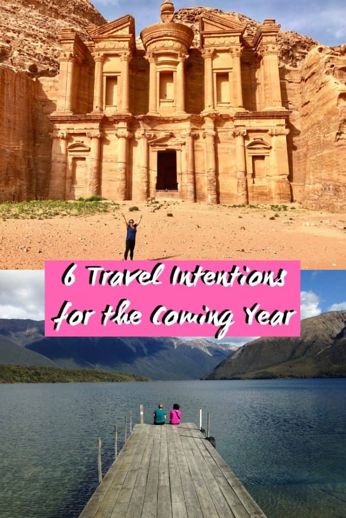 6 Travel Intentions for 2019 | Do you make travel resolutions or intentions each year? Here are some things I'm focusing on in 2019! #travelresolutions #resolutions #travelintentions